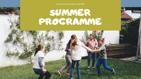Summer programme blog